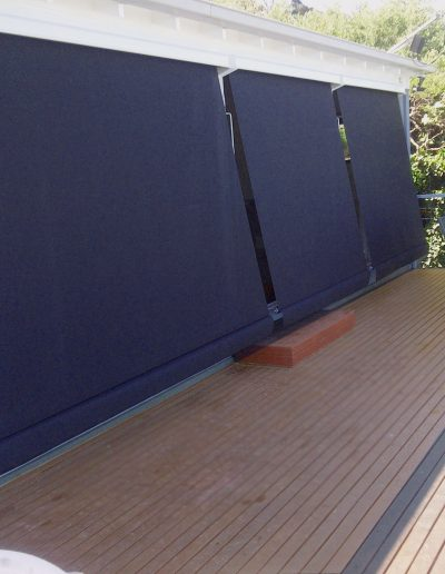 outdoor blinds with cords