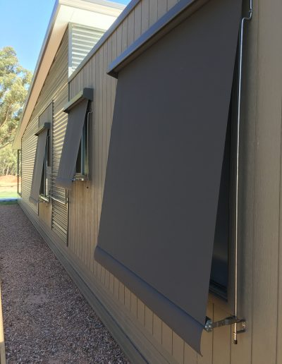 large outdoor roller shades