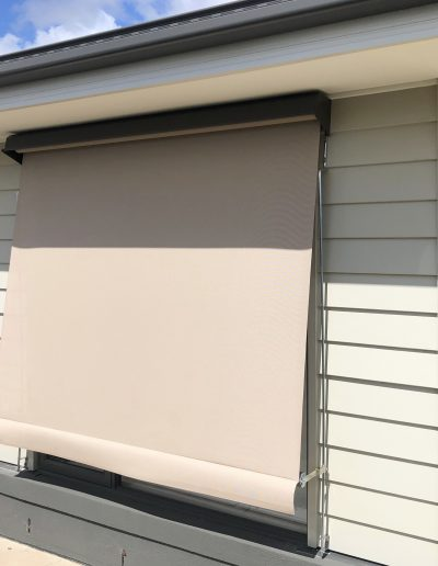 electric outdoor shades