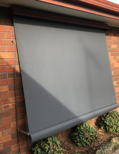 external electric blinds