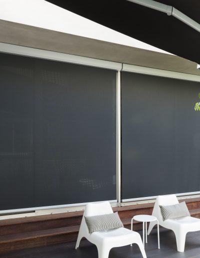 external solar shading blinds