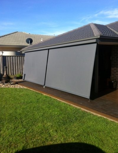 outdoor roller blinds for patios