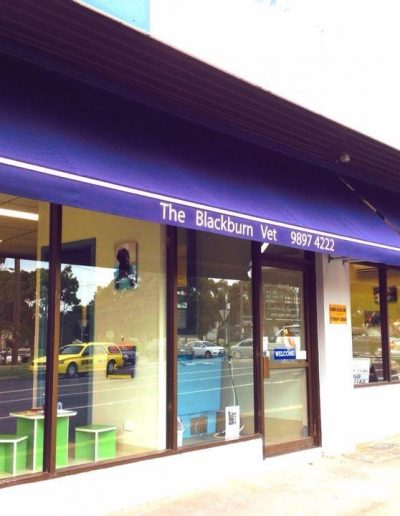 commercial shop awnings