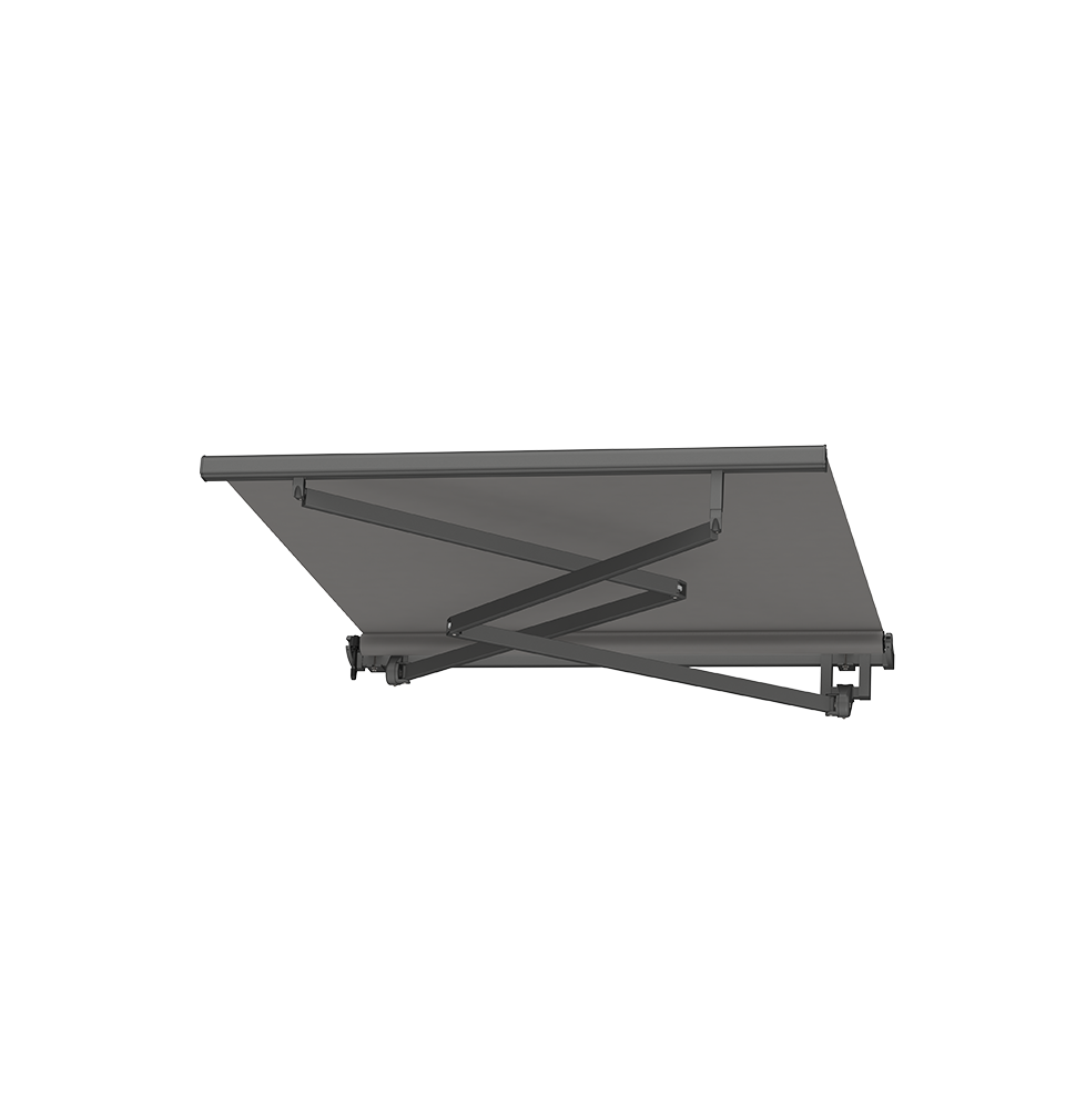 stationary awnings for home
