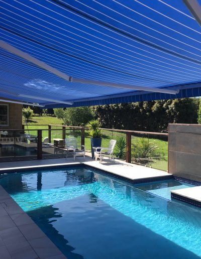 electric outdoor awnings