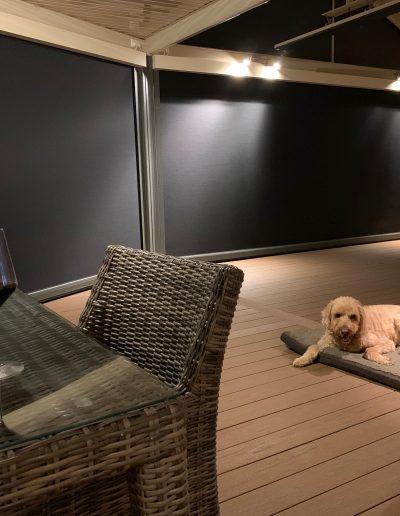 heavy duty pvc outdoor blinds