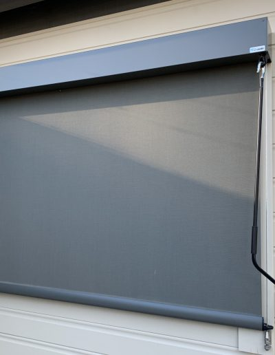 outside roller blind