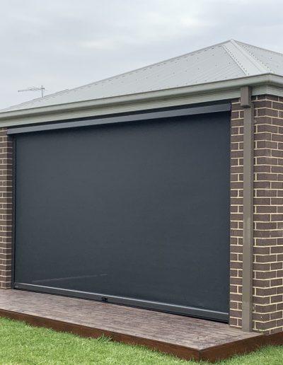 outdoor blinds for pergola bunnings