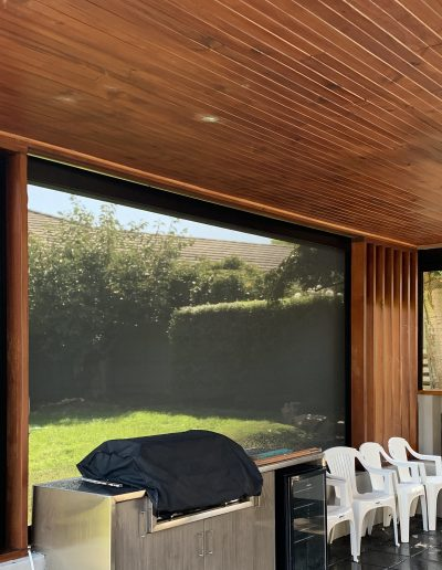 exterior wood blinds